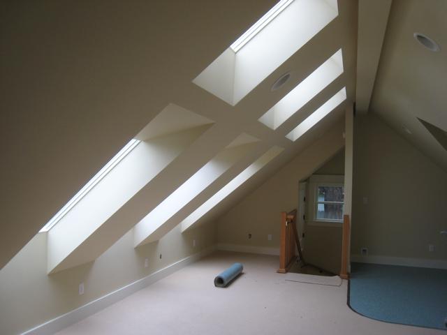 Zilka design skylights for adu provide egress light and for Adu designs